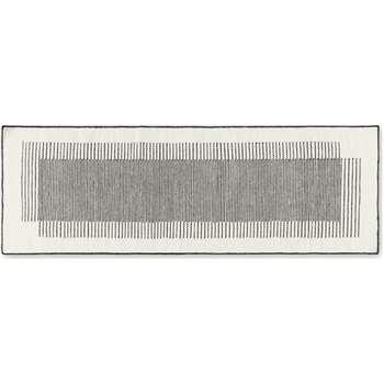 Caixa Wool Runner, Off White & Black (H70 x W200 x D1cm)
