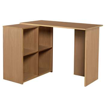 Calgary Corner Desk - Oak Effect (73 x 99.6cm)