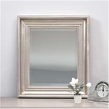 California Mirror - Silver (H52 x W46cm)
