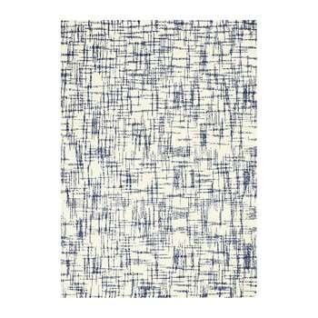 Calvin Klein - Tucson Rug - Ivory/Navy (H226 x W160cm)