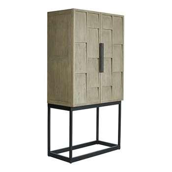 Candelaria Bar Cabinet - Slate (176 x 90cm)