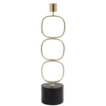 Candle Holder 3 Circles (H30 x W7 x D7cm)