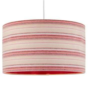Candy Pendant Light Shade 40cm Pink (H22.5 x W40 x D40cm)