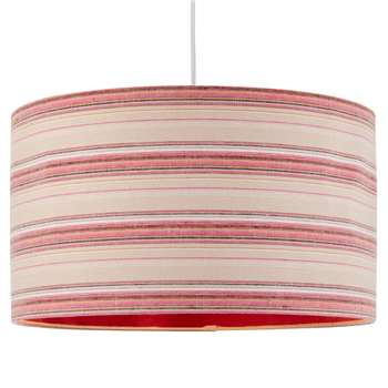 Candy Pendant Light Shade 50cm Pink (H25 x W50 x D50cm)