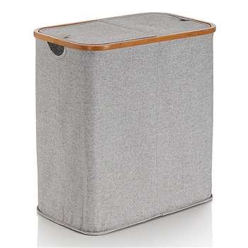 Canvas Laundry, Grey (53.5 x 53cm)