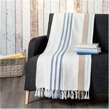 CAP MARTIN cotton throw (210 x 160cm)