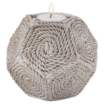 Cape Cod Hex Votive (H10 x W14 x D14cm)