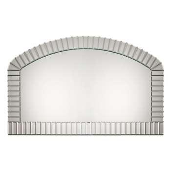 Capri Overmantle Mirror (H78 x W125 x D2cm)
