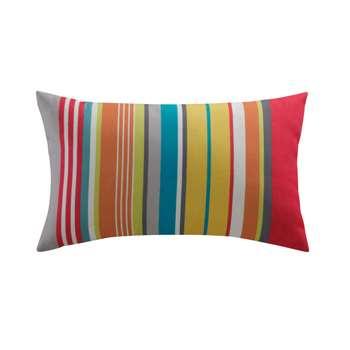 CAPRI stripe outdoor cushion, multicoloured 30 x 50cm