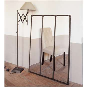CARGO rust effect metal mirror H120 x W95cm