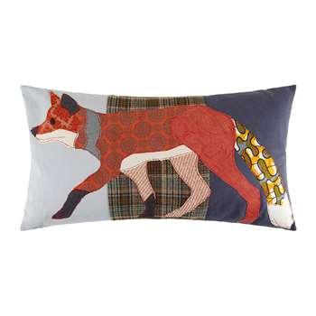 Carola van Dyke - Running Fox Cushion (H40 x W70cm)