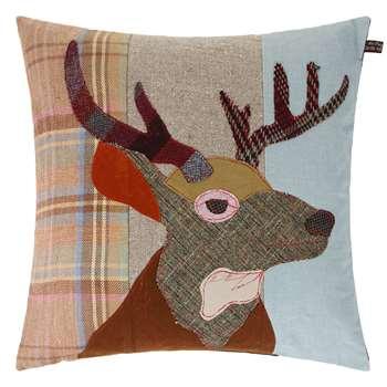 Carola van Dyke - Stag Cushion (50 x 50cm)