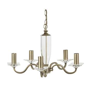 Carson 5 Light Chandelier (35 x 50cm)