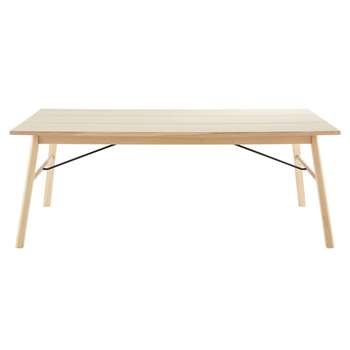 Carver Extendable 8-12 Seater Dining Table (H200 x W75 x D100cm)