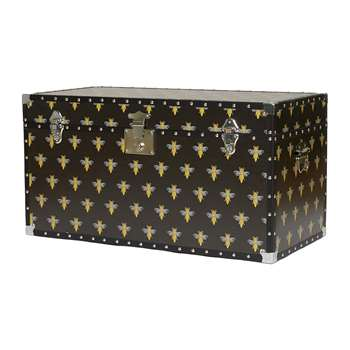 casacarta - Studded Storage Trunk/Coffee Table - Bee (H42 x W80 x D40cm)