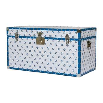casacarta - Studded Storage Trunk/Coffee Table - Evil Eye (H42 x W80 x D40cm)