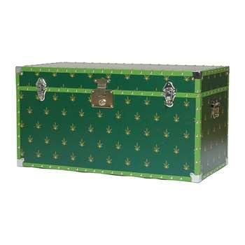 casacarta - Studded Storage Trunk/Coffee Table - Leaf (H42 x W80 x D40cm)