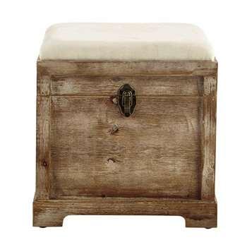 CASCABELLE wooden chest (40 x 39cm)