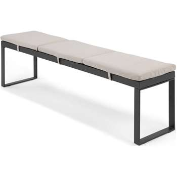 Catania Large Garden Dining Bench (H45 x W175 x D37cm)