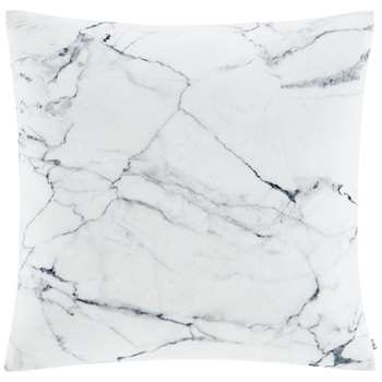 Catherine Lansfield Pack of 2 Cushion Covers - Marble Grey (H45 x W45cm)