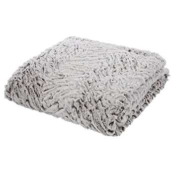 Catherine Lansfield Wolf Throw, Neutral
