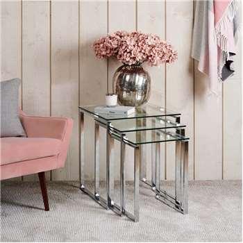 Catie Nest of Tables (H55 x W50 x D50cm)