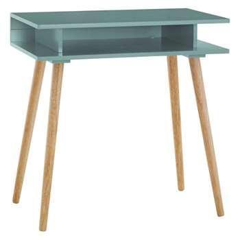 Habitat Cato Sage Green Desk (H77 x W75 x D45cm)