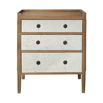 Catous Small Chest of Drawers - Natural (73 x 62cm)