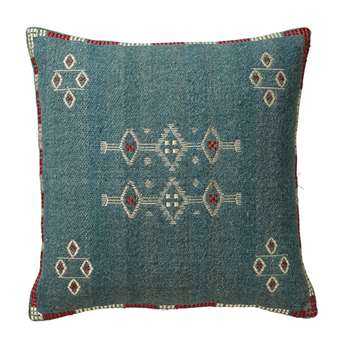 Cayuga Cushion Cover, Large - Blue (51 x 51cm)