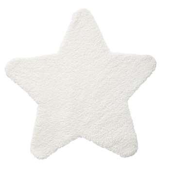 CELESTE - Ecru Star Rug (H100 x W100cm)