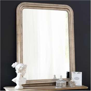 CÉLESTE mirror, champagne 120x90