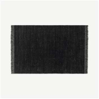 Celsi Wool Pile Rug, Dark Charcoal (H160 x W230cm)