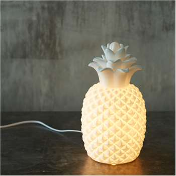 Ceramic Pineapple Lamp (H31 x W17 x D17cm)
