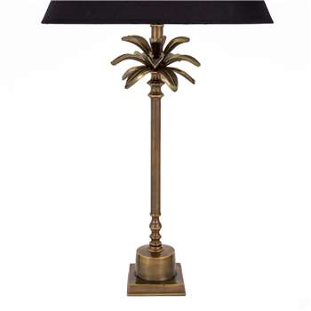 Ceylon Palm Tree Lamp Base - Brass (51 x 15cm)