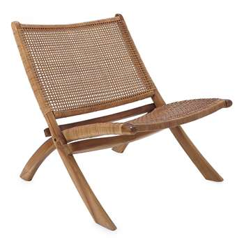 Chair Bakaru, Natural (H70 x W80 x D66cm)