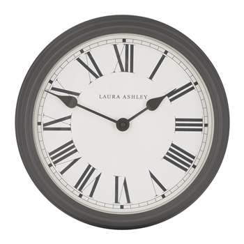 Charcoal Gallery Wall Clock (37 x 37cm)