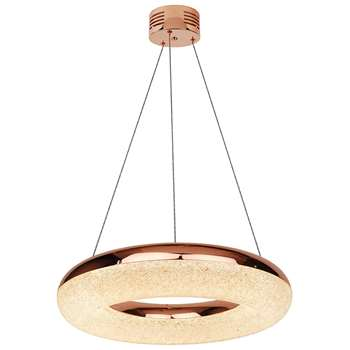 Chase Ring LED Pendant Ceiling Light Copper (H114 x W40 x D40cm)