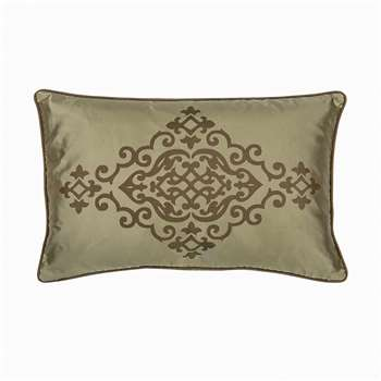 Chateau Rect Cushion - Moss (30 x 50cm)