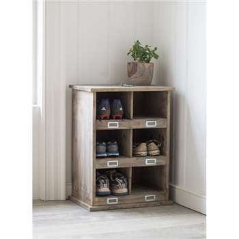 Chedworth 6 Shoe Locker - Spruce (66 x 50cm)