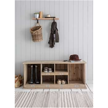 Chedworth Welly Locker in Natural - Spruce (55 x 121cm)
