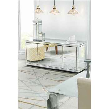 Chelsea Mirrored Sideboard (70 x 164cm)