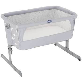 Chicco Next To Me Crib, Circle Grey (Width 93cm)