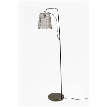 Chicken Wire Floor Lamp - Clear (H160 x W40 x D40cm)