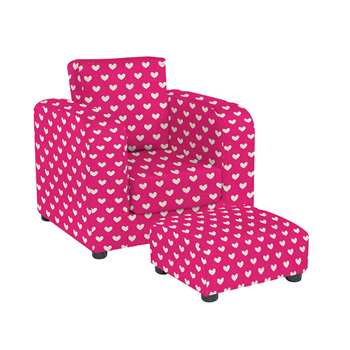 Children's Chair With Footstool