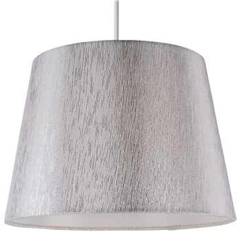 """Chilka 10"""" Shade Silver (H19 x W26.5 x D26.5cm)"""
