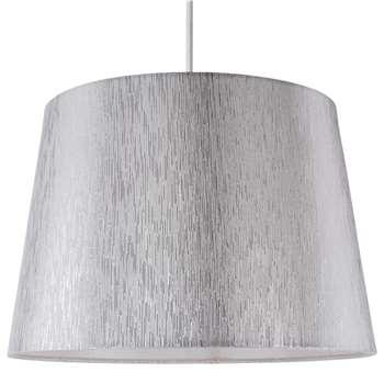 """Chilka 12"""" Shade Silver (H21 x W30.5 x D30.5cm)"""