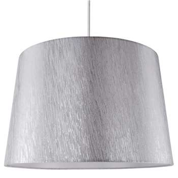 """Chilka 16"""" Shade Silver (H26.5 x W40.5 x D40.5cm)"""