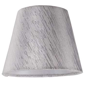 Chilka Candle Shade Silver (H11 x W14 x D14cm)