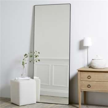 Chiltern Thin Metal Full Length Mirror (H189 x W74 x D2.5cm)