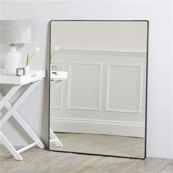 Chiltern Thin Metal Rectangular Mirror (113 x 88cm)